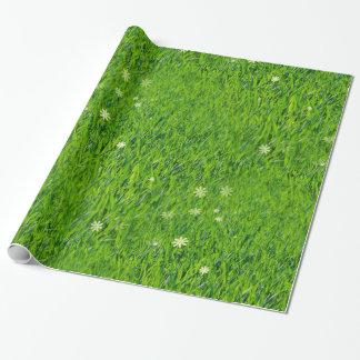 Het gras is groener verpakkend document inpakpapier