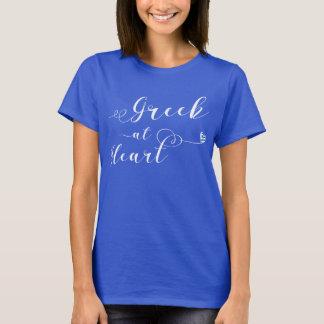 Het Grieks bij het Overhemd van het T-shirt van