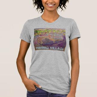 Het Griekse Dorp van de Visserij van het Eiland T Shirt