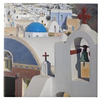 Het Griekse Eiland van Griekenland en van stad San Tegeltje