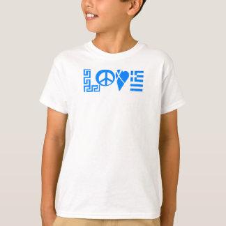 Het Griekse Overhemd van de Jeugd van de Vlag van T Shirt