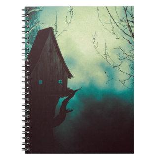 Het griezelige Huis van de Heks in Mist 2 Ringband Notitieboek