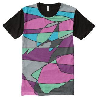 Het Grijs van de verbeelding All-Over-Print T-shirt