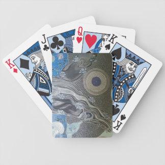 Het grijs van de walvis pak kaarten