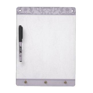 Het grijze droge damast wist raad whiteboards
