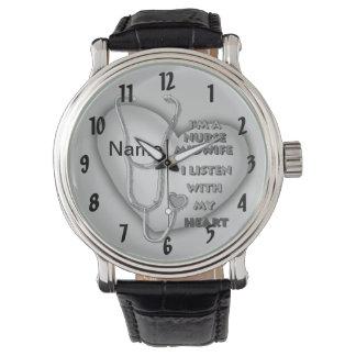 Het Grijze Hart van de Verpleegster van de Horloge