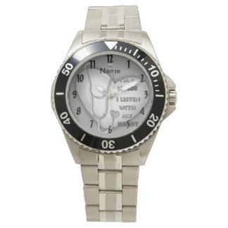 Het grijze horloge van de Verpleegster van het
