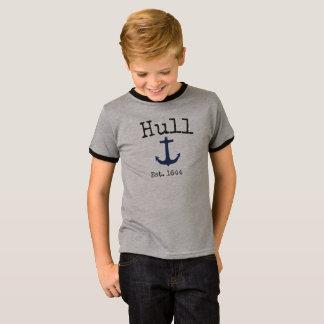 Het grijze overhemd van Hull Massachusetts voor T Shirt