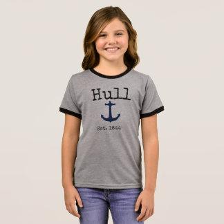 Het grijze overhemd van Hull Massachusetts voor T Shirts