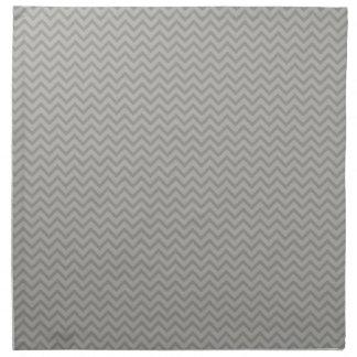 Het grijze Patroon van de Chevron Servet