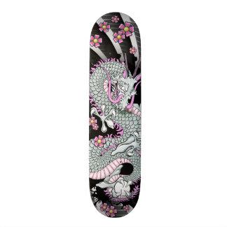 Het grijze Skateboard van de Kunst van het Tattoo