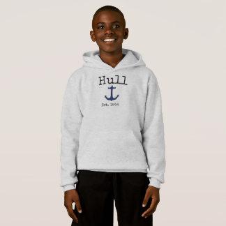 Het grijze sweatshirt van Hull Massachusetts voor