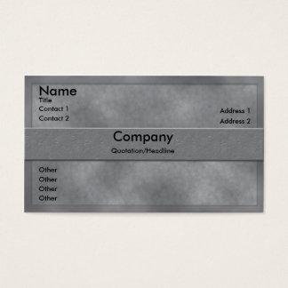 Het grijze Visitekaartje van het Perkament