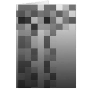 Het grijze, Zwart-witte Patroon van Vierkanten Kaart
