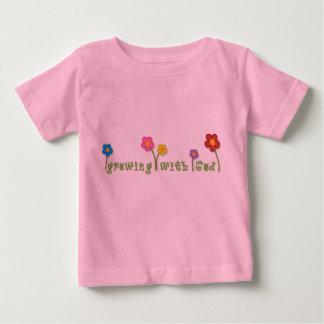 Het groeien met Christelijk het babyt-shirt van de Baby T Shirts
