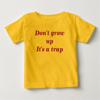 Het groeien van creeper. baby t shirts