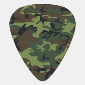 Het groene Bos Militaire Patroon van de Camouflage Plectrum