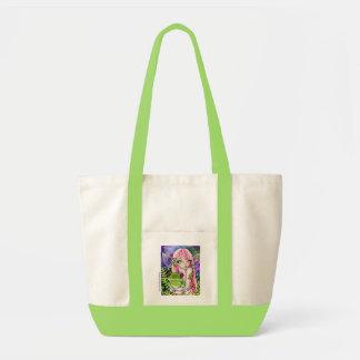 Het groene Elf van de Kikker - Canvas tas