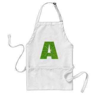 Het groene Fijne Alfabet van de Amerikaanse club v Schorten