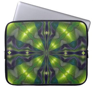 Het groene Fractal van het Synergisme Sleeve van d