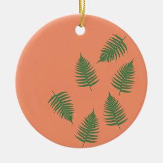 Het groene Gelukkige Ornament van de Varen