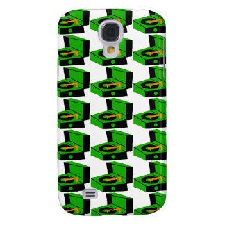 Het groene Geval van Houndstooth SamsungGalaxy van Galaxy S4 Hoesje
