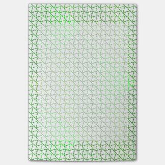 Het groene Geven Recyclen voor de Dag van de Aarde Post-it® Notes