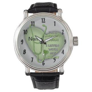 Het Groene Hart van de Verpleegster van de Horloge