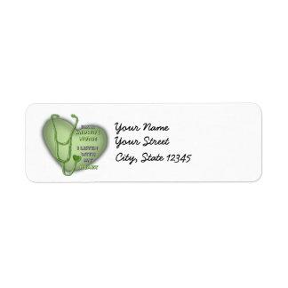 Het Groene Hart van de Verpleegster van de Retouretiket