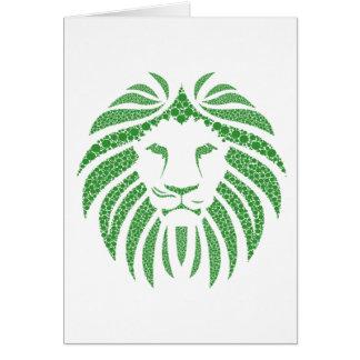 Het groene Hoofd van de Leeuw Briefkaarten 0