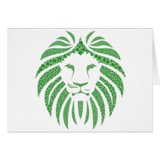 Het groene Hoofd van de Leeuw Kaart