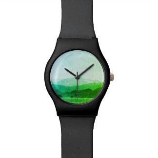 Het groene Horloge van Bergen