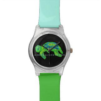 Het groene horloge van de Schildpad van het Zee