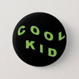 Het Groene Koele Kind van de munt Ronde Button 5,7 Cm