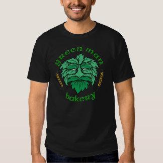 Het groene Label van de Bakkerij w/back van het Shirts