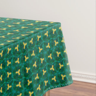Het Groene Marmeren Tafelkleed van de pinda een