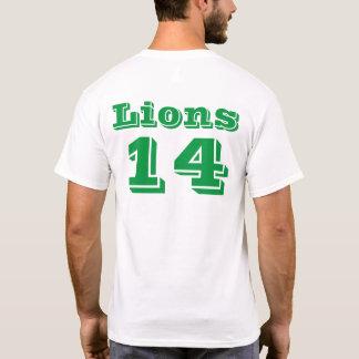 Het groene Nummer van de Naam van het Team van de T Shirt