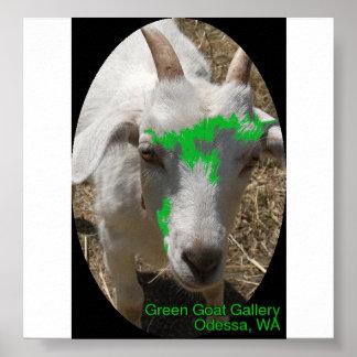 """Het groene """"Opdringerig """" Voorkomen van het Poster"""