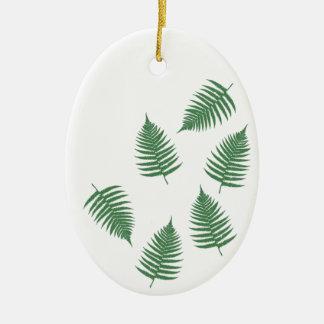 Het groene Ornament van de Vakantie van de Varen