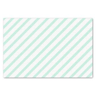 Het Groene Papieren zakdoekje van de munt met Tissuepapier