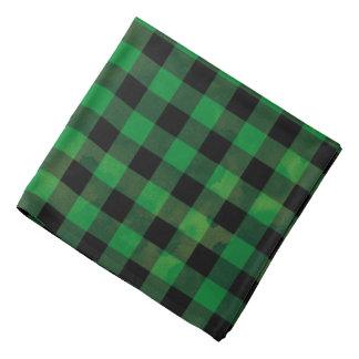 Het groene Patroon van de Controle van Buffels Bandana