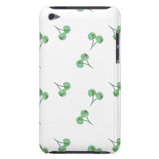 Het groene Patroon van de Kers iPod Touch Hoesje
