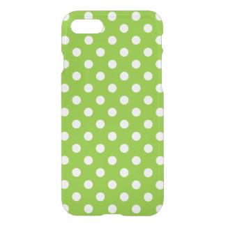 Het groene Patroon van de Stip iPhone 7 Hoesje