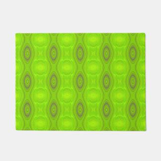 Het groene Patroon van Mod. Deurmat
