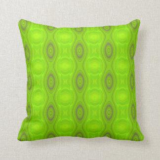 Het groene Patroon van Mod. werpt Hoofdkussen Sierkussen