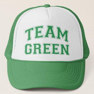 Het Groene Pet van het team