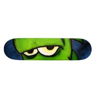 Het groene Skateboard van de Kwelgeest