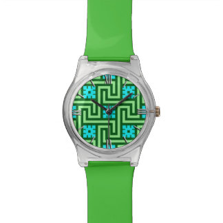 Het Groene Sleutel, Turkoois en de Jade van Deco Polshorloge