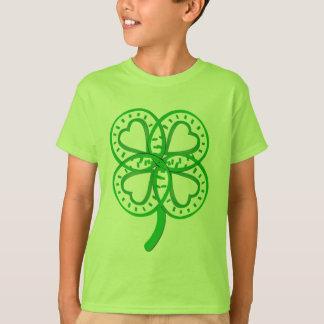 Het groene St van het Hart van de Klaver Voor T Shirt