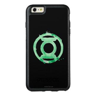Het Groene Symbool van de Lantaarn van de koffie - OtterBox iPhone 6/6s Plus Hoesje